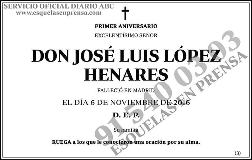 José Luis López Henares